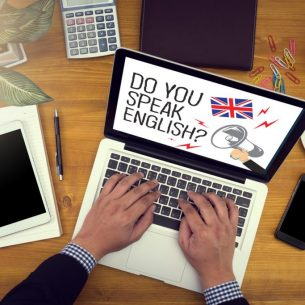 DO YOU SPEAK ENGLISH? Concept of learning Englis