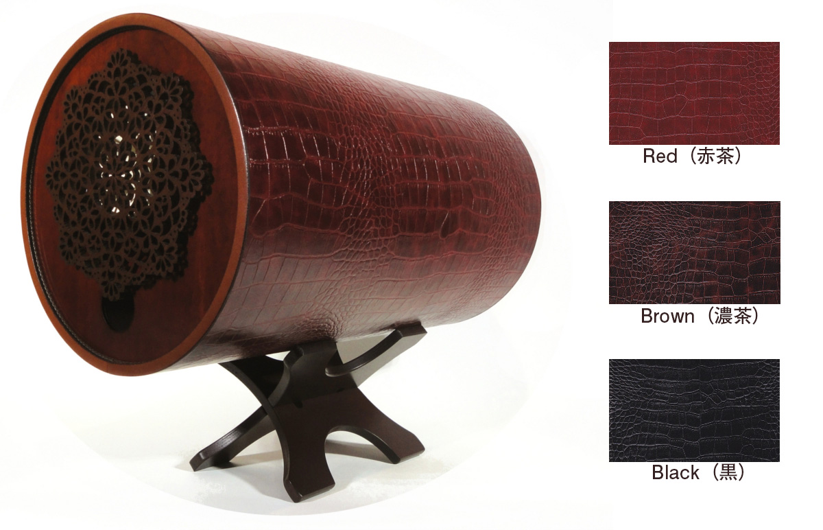 Black(黒)即納OK <通常納期45日> ※サイドは飾り木ではなく性能発揮と通常使いに優れたカバータイプ